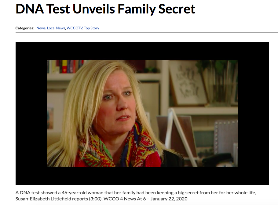 DNA Test Reveals Family Secret